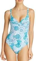 Bleu Rod Beattie Underwire Twist One Piece Swimsuit