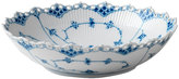 Royal Copenhagen Fluted Full Lace Porcelain Serving Bowl