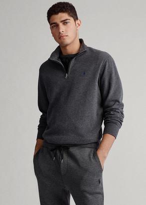 Ralph Lauren Jersey Quarter-Zip Pullover