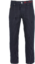 Vivienne Westwood Anglomania Crow Jeans Blue Pinstripe Size 28