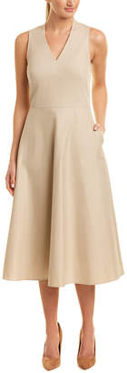 Lafayette 148 New York Adina Midi Dress