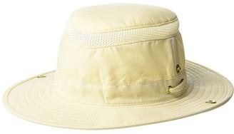 Tilley Endurables Airflo Snap-Up (Natural/Green) Traditional Hats
