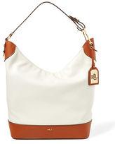 Lauren Ralph Lauren Carissa Leather Hobo Bag