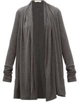 The Row Knightsbridge Cardigan - Womens - Dark Grey