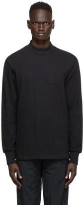 Aimé Leon Dore Black Dimebag Long Sleeve T-Shirt