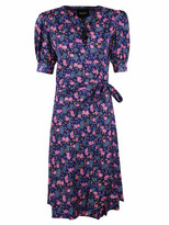 Marc Jacobs Bow-tied Waist Floral Print Dress