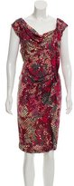 Yoana Baraschi Draped Silk Dress w/ Tags