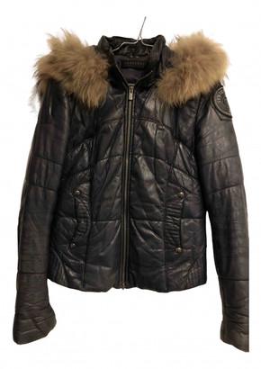 Ventcouvert Blue Leather Jackets