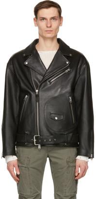 Mackage Black Leather Clement Jacket