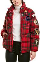 Moncler Long Sleeve Short Down Jacket