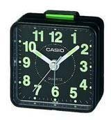 Casio TQ140 Travel Alarm Clock - Black TQ140-1