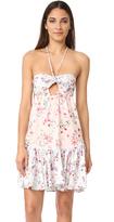 MinkPink Sherbet Spliced Dress