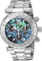 Invicta Men's 25798 Subaqua Quartz Chronograph Green, Blue Dial Watch