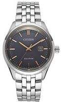Citizen Eco-Drive Men's Sapphire Stainless Steel Watch - BM7251-53H
