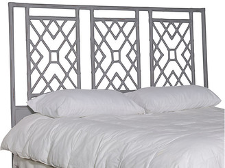Inspired By David Francis Camden Headboard - Distressed Gray - queen
