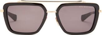 Dita Eyewear Mach Seven Titanium And Acetate Sunglasses - Black