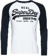 Superdry Vintage Logo Long Sleeved Top Optic