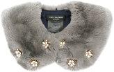 Yves Salomon Four Rex studded collar