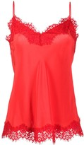 Zimmermann Lace-Trimmed Satin Cami Top
