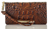 Brahmin Melbourne Collection Debra Croco-Embossed Wallet