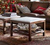 Pottery Barn Connor Coffee Table - Marble