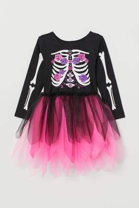 H&M La Catrina Costume Dress - Pink