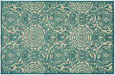Kaleen Belda Outdoor Rug, Blue