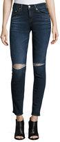 Rag & Bone Mid-Rise Distressed Skinny Jeans, Vashon