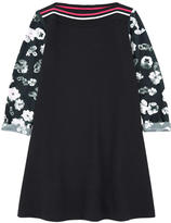 Lanvin Printed milano jersey dress