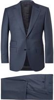 Ermenegildo Zegna - Blue End-on-end Wool Suit