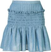 Sea frill detail skirt