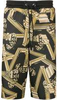 Versace Jeans black and gold track pants