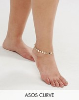 Asos Exclusive Disc Anklet and Minimal Toe Ring Pack