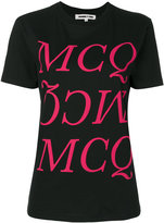 McQ by Alexander McQueen logo print T-shirt - women - Cotton - XS