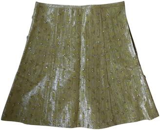 Louis Vuitton Green Tweed Skirts