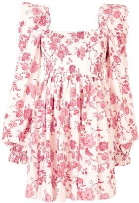 The Vampire's Wife Floral-Print Dress