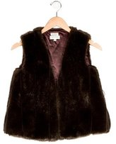 Helena Girls' Faux Fur Vest