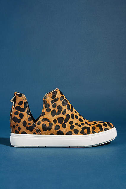 Steve Madden Steven by Caprice Leopard Sneakers