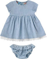 Cath Kidston Broderie Anglaise Baby Dress