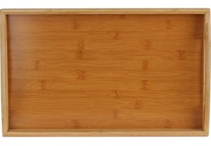 Home-it HomeIT Bamboo Serving Tray with Handles