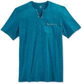 INC International Concepts Men's Dean Split-Neck T-Shirt, Only at Macy's
