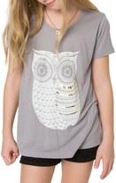 O'Neill Owlie Graphic Tee (Little Girls & Big Girls)