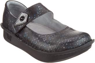 Alegria Leather Mary Janes with Hardware Detail - Paloma