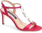 Nina 'Kasmira' Swarovski T-Strap Sandal (Women)