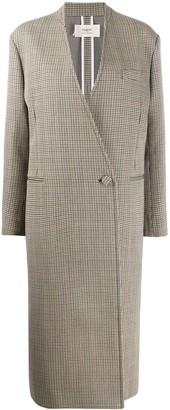 Ports 1961 Check Pattern Coat