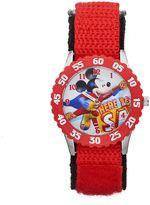 "Disney Disney's Mickey Mouse ""Here To Save"" Boys' Time Teacher Watch"