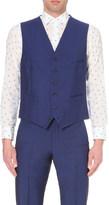 Richard James Satin-back single-breasted waistcoat