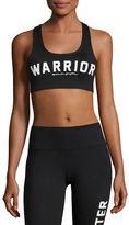 Spiritual Gangster Warrior Arch Sports Bra, Black