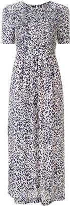 Baum und Pferdgarten Adamaris leopard-print dress