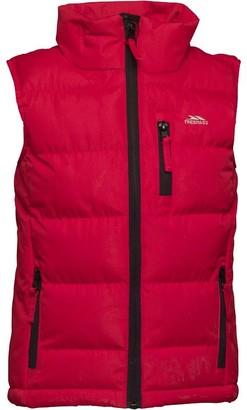 Trespass Boys Taske Padded Gilet Vest Red